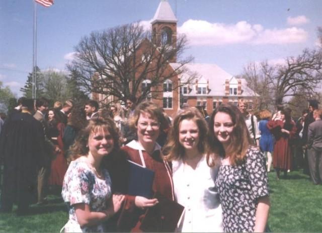 1995 Graduation Day at Pillsbury College