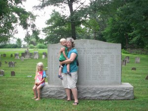 """Luthien, Silas, and my mother, """"Little Becki"""""""