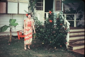 One moment in the life of my late grandmother, Hazel Dominguez Tindall.